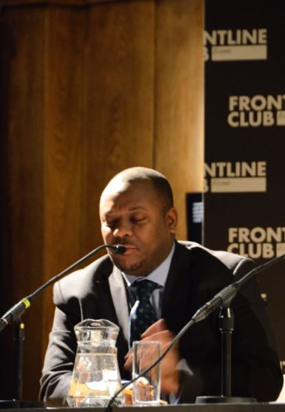 DRC political leadership Frontline Club 13 February 2013 I Dream of Congo Congo Connect