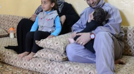 Ali and Fatmeh and their family face eviction from their home in Mafraq, northern Jordan