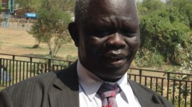 South Sudan finance minister Aggrey Tisa