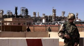 In Amenas gas plant in Algeria the target of a terrorist attack in January 2013