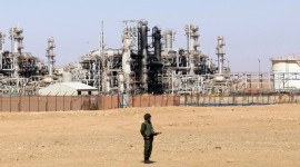 Algeria has the third-largest shale gas resevers in the world