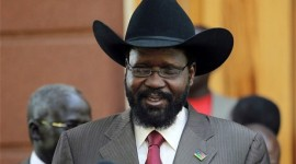 Salva Kiir, president of South Sudan