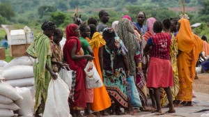 UN aid to civilians who fled to the POC to escape ethnic violence in Wau in 2016