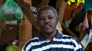 Father Natale who buried victims of ethnic violence in Wau South Sudan in 2016