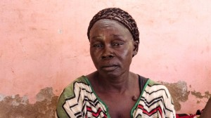 Mary Mario, whose husband was killed in ethnic violence in Wau South Sudan in 2016