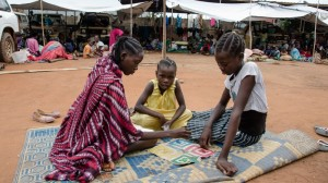 Civilians sought refuge from ethnic violence in a Red Cross compound in Wau in 2016