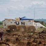 The spontaneous displacement created immediate security concerns for thousands of IDPs staying on a site protected by nothing but barbed wire. A UN armoured personnel carrier is now stationed at the site, and UN troops are patrolling the perimeter. But there are only 10 troops on duty at any one time, and there are concerns that the extension of the camp is taking new residents further away from the UNMISS base. RICHARD NIELD/AL JAZEERA