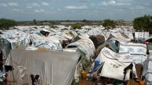 Victims of ethnic violence in Wau sought refuge in a UN Protection of Civilians POC camp